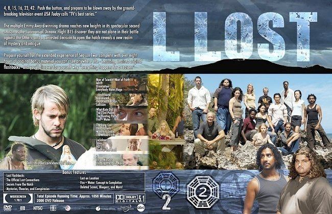 dvd cover Lost Supper Collection Season 2