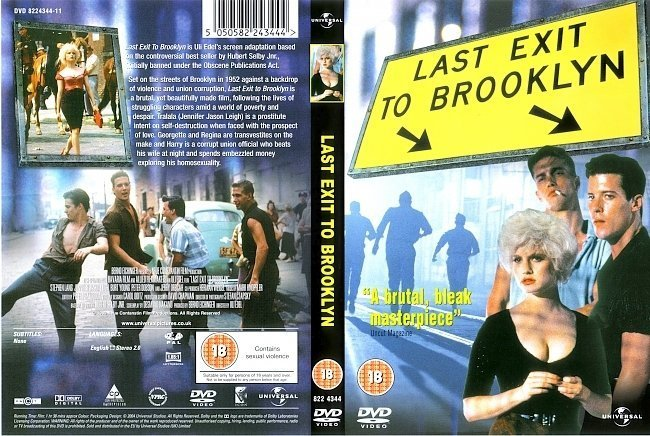 dvd cover Last Exit To Brooklyn (1989) R2