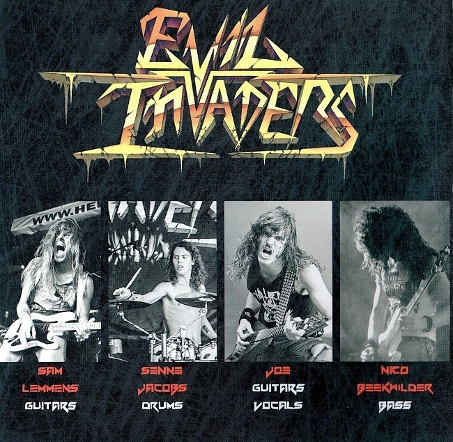 dvd cover Evil Invaders - Pulses Of Pleasure