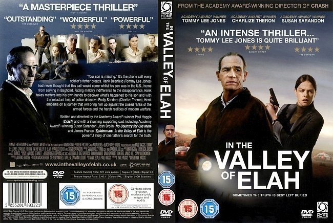 dvd cover In The Valley Of Elah (2007) WS R2