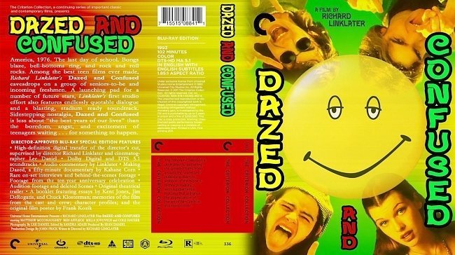 dvd cover Dazed And Confused