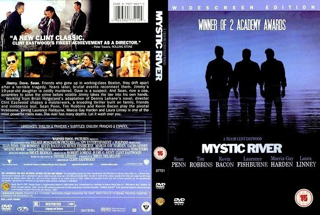 dvd cover Mystic River (2003) R2