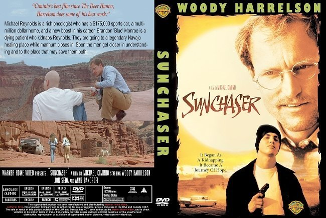 dvd cover Sunchaser (1996) CUSTOM