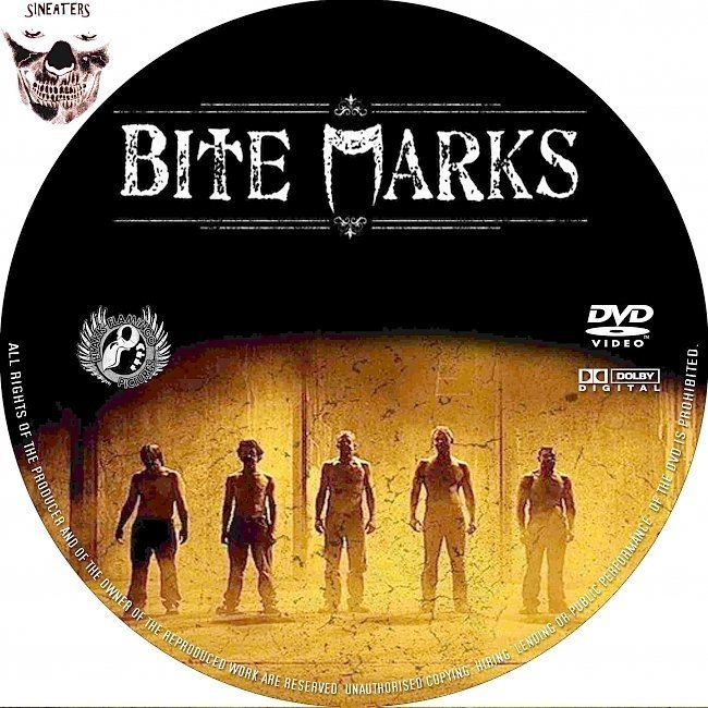 dvd cover Bite Marks (2011) R0 Custom