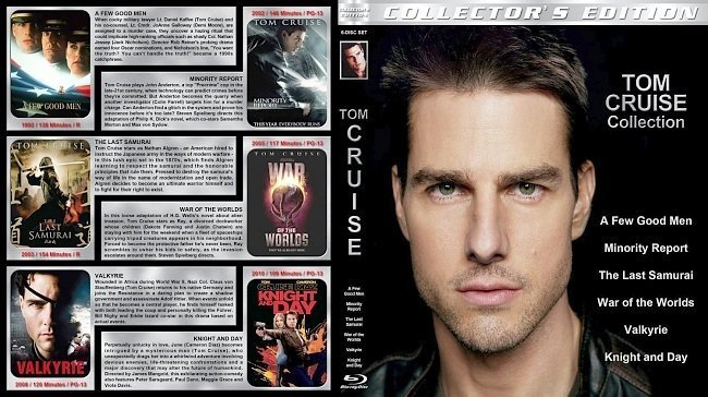 dvd cover Tom Cruise Collection