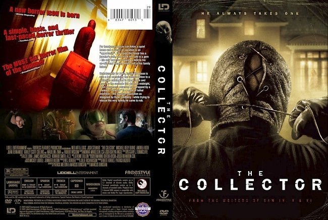 dvd cover The Collector