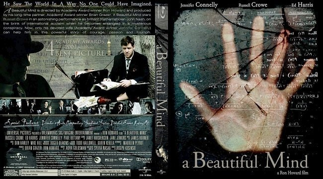 dvd cover A Beautiful Mind