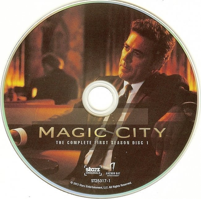 dvd cover Magic City: The Complete First Season R1