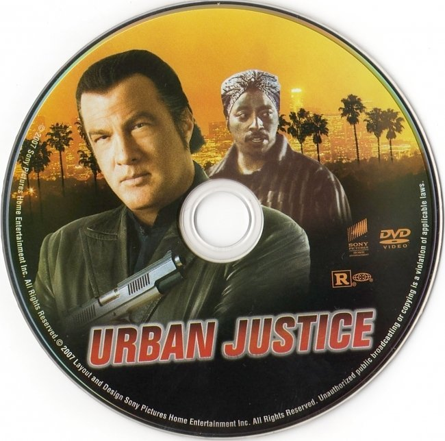 dvd cover Urban Justice (2007) R1