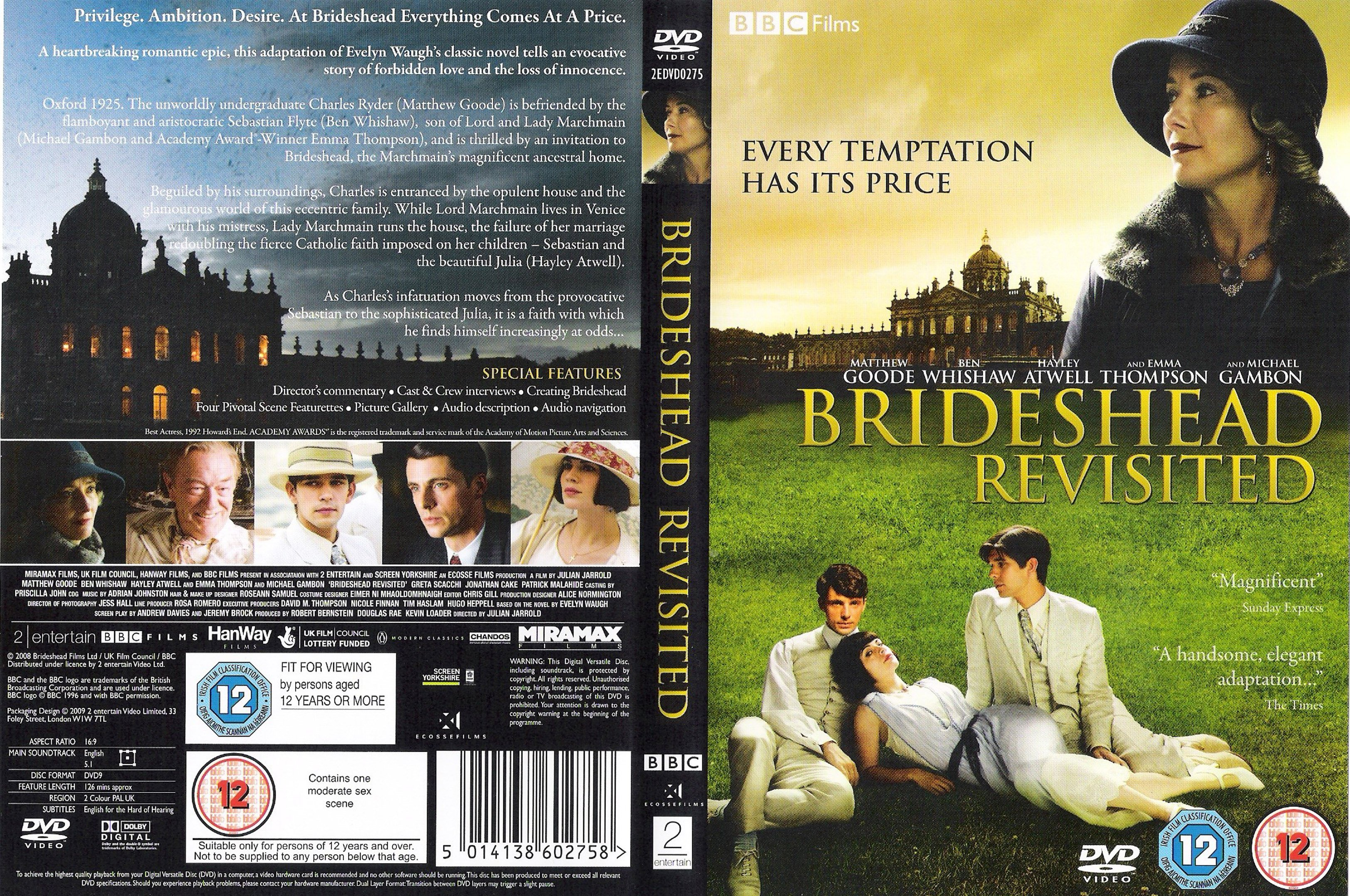 looking for love in brideshead revisited Brideshead revisited is a 1981 british television serial starring jeremy irons and anthony andrews it was produced by granada television for broadcast by the itv.