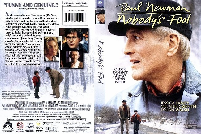dvd cover Nobody's Fool (1994) WS R1