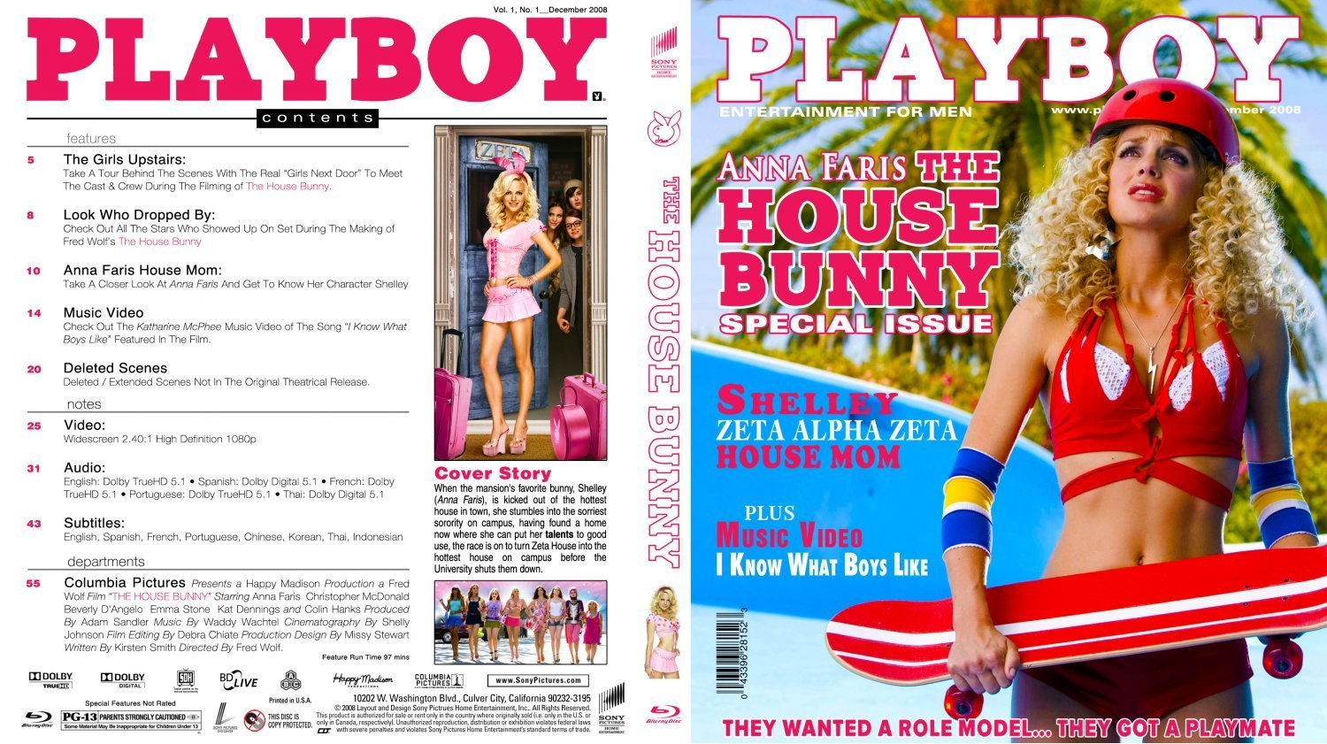 House Bunny Characters throughout the house bunny | dvd covers and labels