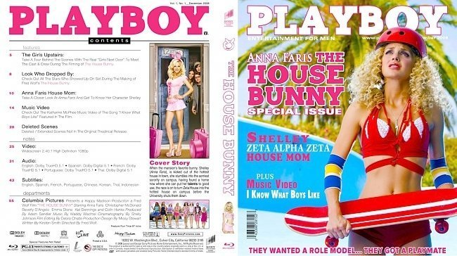 dvd cover The House Bunny