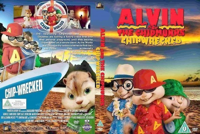 dvd cover Alvin And The Chipmunks (2011) 3 Chipwrecked