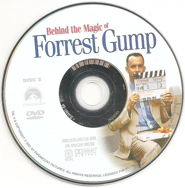 dvd cover Forrest Gump (1994) WS CE R1