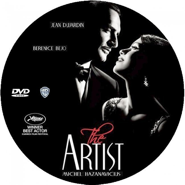 dvd cover The Artist (2011)