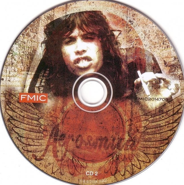 dvd cover Aerosmith - Up In Smoke