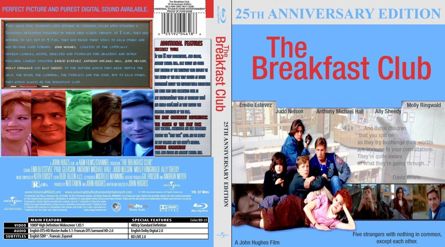 the breakfast club film journal Allison is the last out of the breakfast club members to enter the allison, in the letter, says, and a basket-case allison reynolds: the basket-case.