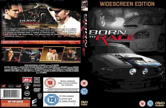 dvd cover Born To Race (2011) WS R2