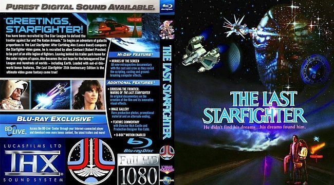 dvd cover LAST STARFIGHTER