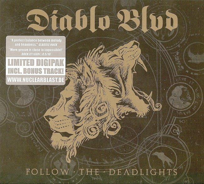 dvd cover Diablo Blvd - Follow The Deadlights