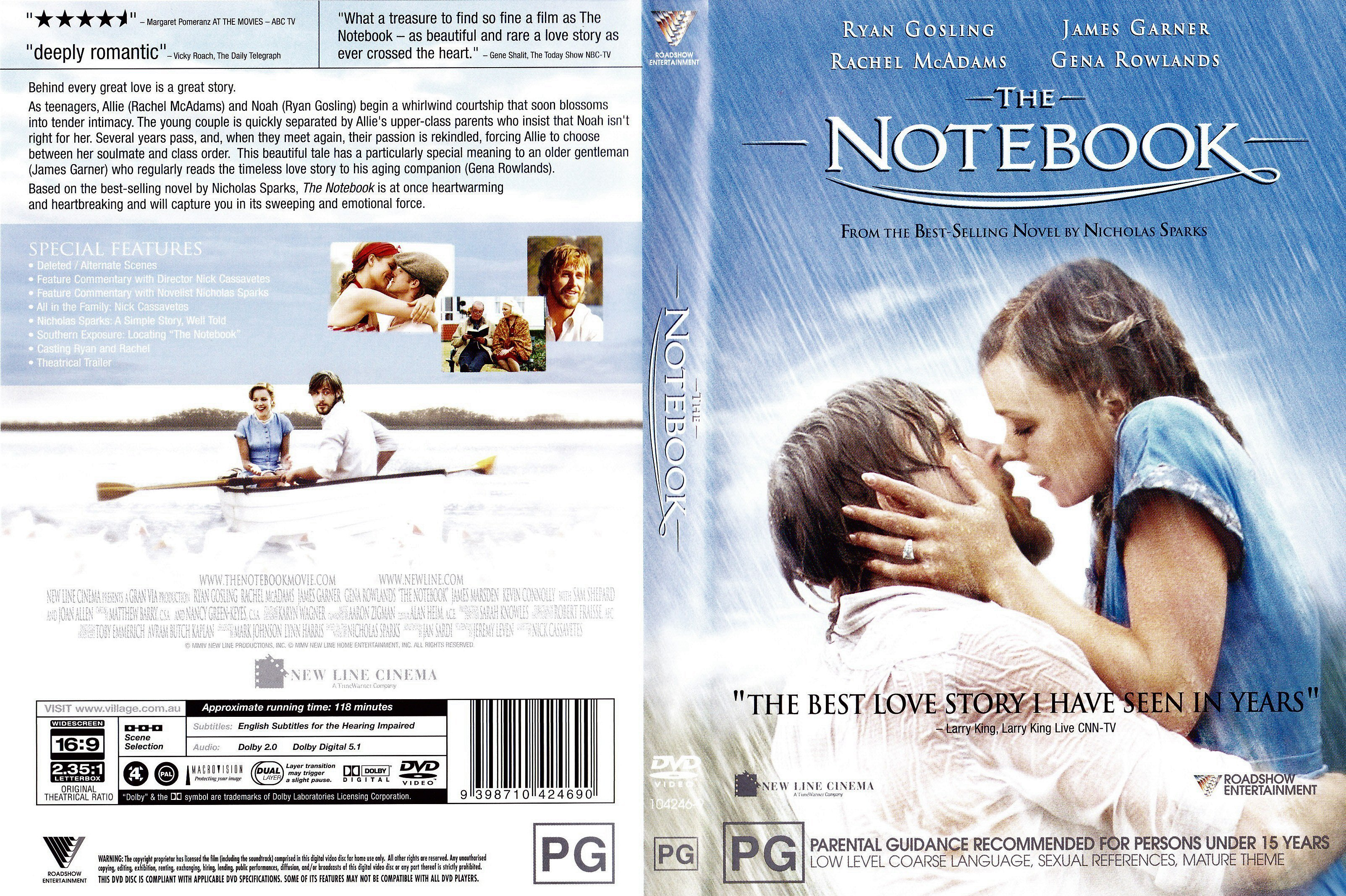 review on the notebook The notebook [nicholas sparks] don't base your decision about reading any book based on the negative comments left on the review by another.