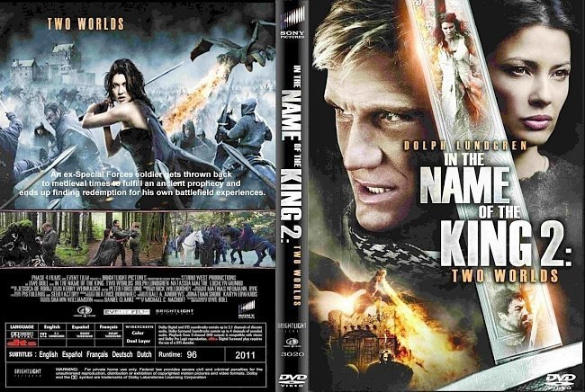 dvd cover In The Name Of The King 2 Two Worlds
