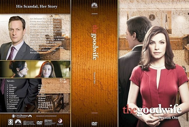 dvd cover The Good Wife Season 1