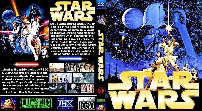 dvd cover Star Wars A New Hope