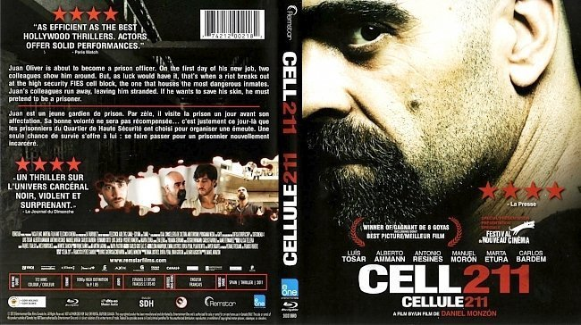 dvd cover Cell 211 Cellule 211