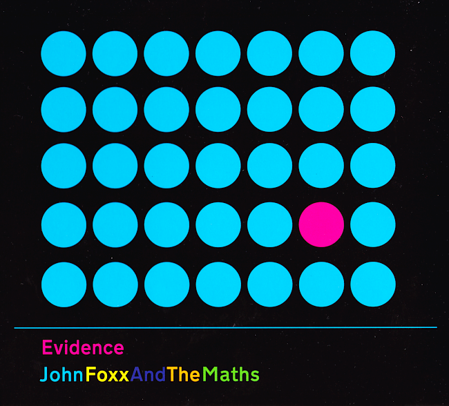 dvd cover John Foxx & The Maths - Evidence