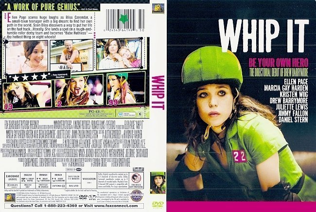 dvd cover Whip It (2009) WS R1