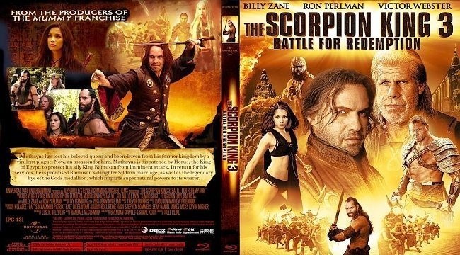 dvd cover SCORPION KING 31