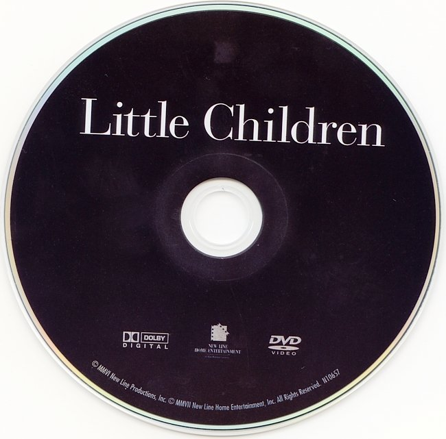 dvd cover Little Children (2006) R1
