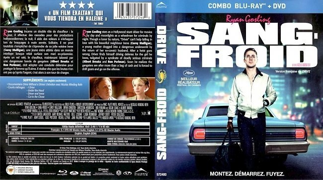 dvd cover Sang Froid Drive