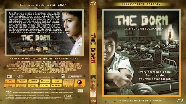 dvd cover The Dorm