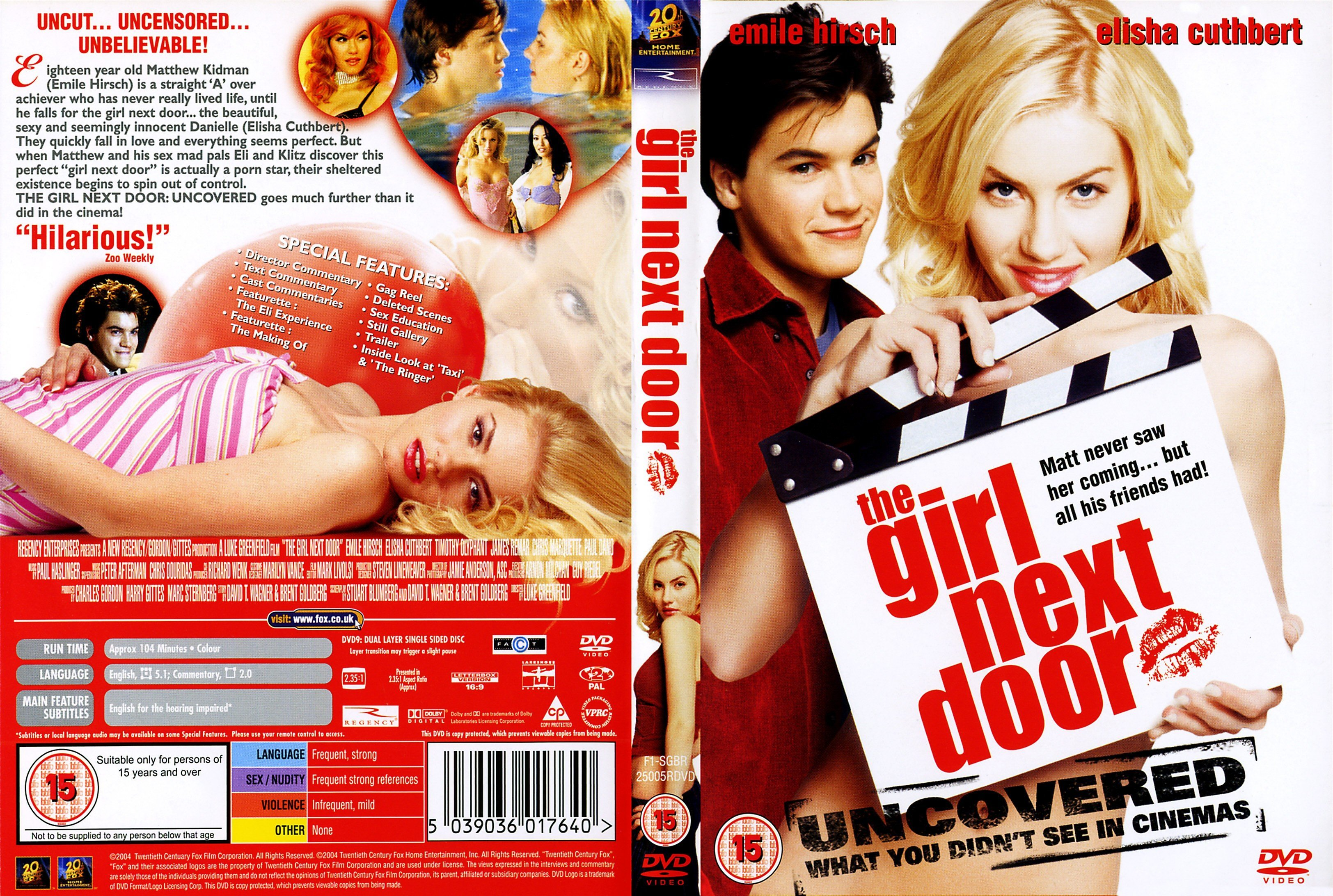 The girl next door movie video