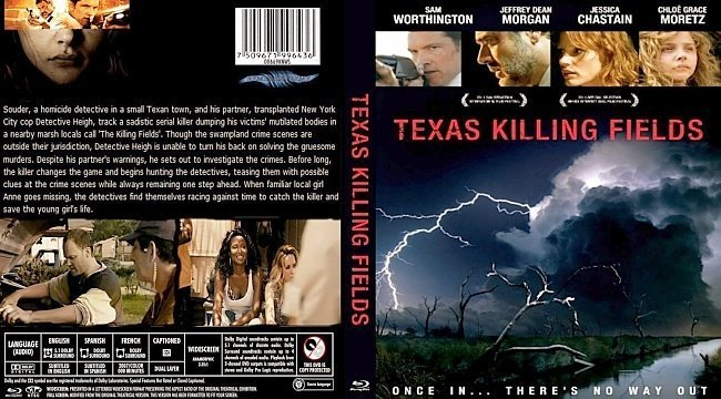 dvd cover Texas Killing Fields