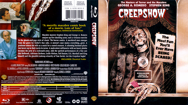 dvd cover Creepshow