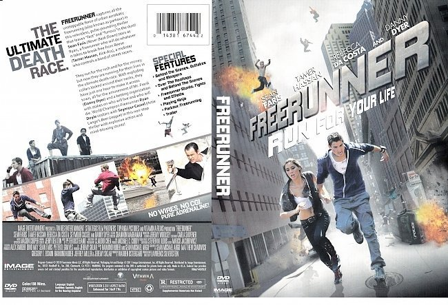 dvd cover Freerunner (2011) R1