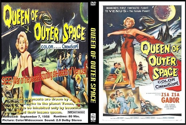 dvd cover Queen Of Outer Space