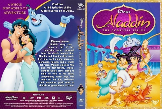 dvd cover Aladdin The Complete Series