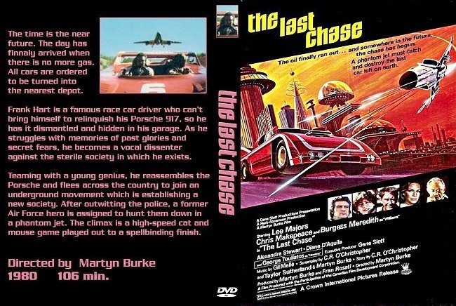 dvd cover Last Chase
