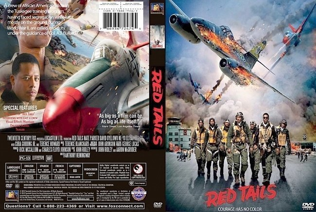 dvd cover Red Tails