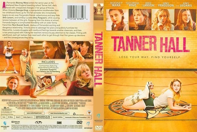 dvd cover Tanner Hall