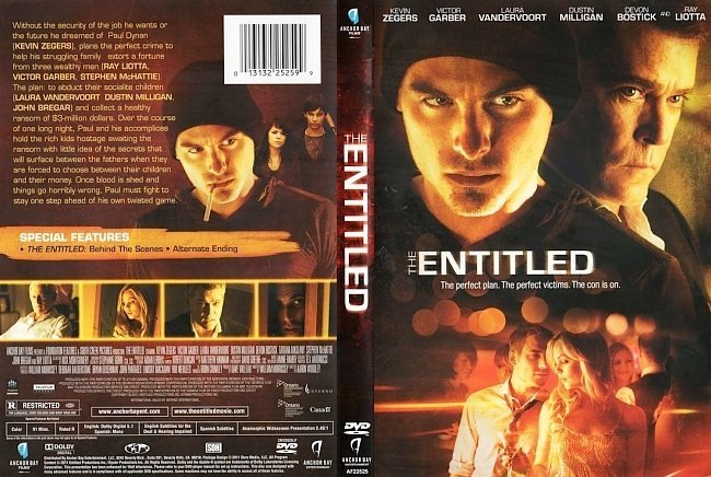 dvd cover The Entitled