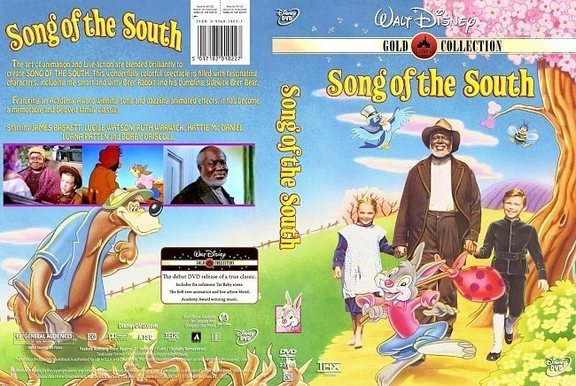 dvd cover Song Of The South (1946)