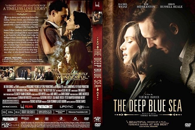 dvd cover The Deep Blue Sea