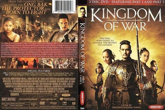 dvd cover Kingdom Of War