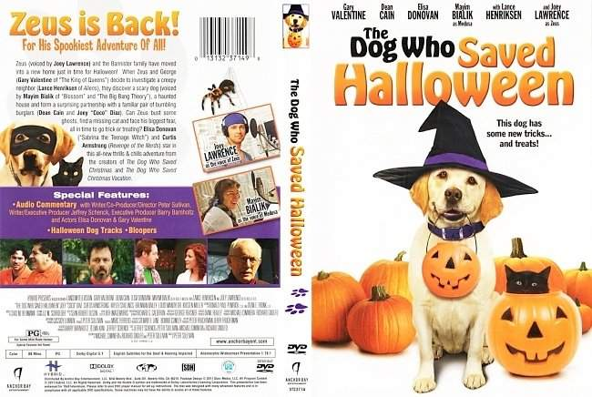 dvd cover The Dog Who Saved Halloween